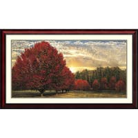 Laurel Creek 'Crimson Trees' by Celebrate Life Gallery (43' x 25')