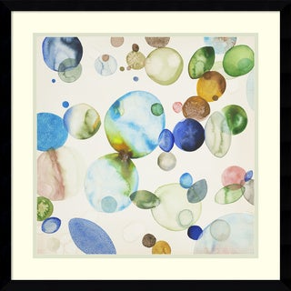 Framed Art Print 'Sea Glass 1' by Craig Alan 21 x 21-inch