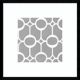 Framed Art Print 'Latticework Tile II' by Hope Smith 21 x 21-inch
