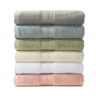 Home Fashion Designs Chapelle Collection 6-Piece Luxury Hotel / Spa 100% Egyptian Cotton Towel Set