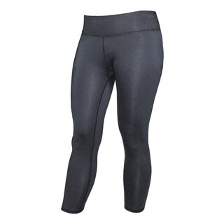 Athletic Women's Black Crop Running Tights