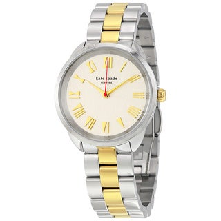 Kate Spade Women's KSW1062 'Crosstown' Two-Tone Stainless Steel Watch
