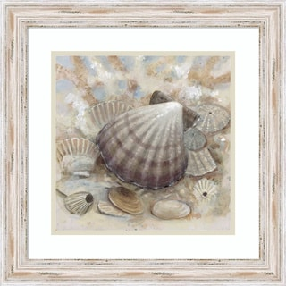 Framed Art Print 'Beach Prize II: Seashell' by Arnie Fisk 19 x 19-inch