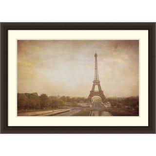 Framed Art Print 'Tour de Eiffel' by Heather Jacks 42 x 29-inch