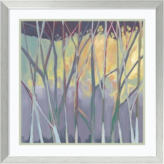 Framed Art Print 'Tangled Twilight II' by Grace Popp 24 x 24-inch