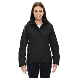Skyline City Women's Twill Insulated With Heat Reflect Technology Black 703 Jacket