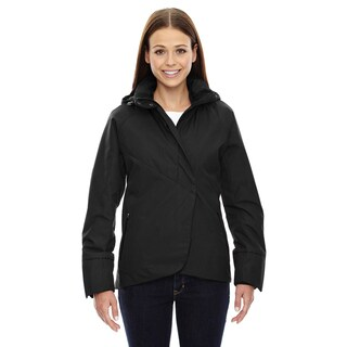 Skyline City Women's Twill Insulated With Heat Reflect Technology Black 703 Jacket (2 options available)