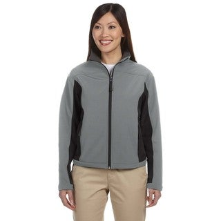 Soft Shell Women's Colorblock Charcoal/Dark Charcoal Jacket