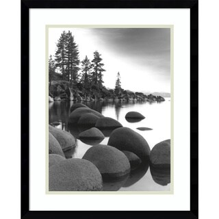 Framed Art Print 'Sand Harbor I' by Monte Nagler 17 x 21-inch