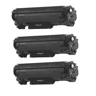 3PK Canon 128 Compatible Black Toner Cartridge Canon imageCLASS D550 imageCLASS MF4450 imageCLASS MF4570dn (Pack of 3)
