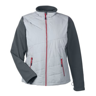 Quantum Women's Interactive Hybrid Insulated Platinum/Carbon 837 Jacket