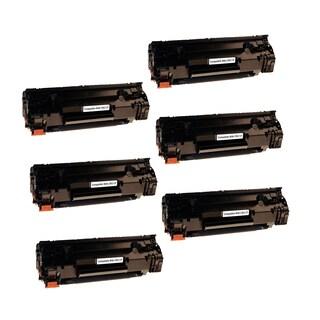 6PK Canon 137 Compatible Black Toner Cartridge Canon ImageClass MF216n ImageClass MF227dw ImageClass MF229dw (Pack of 6)