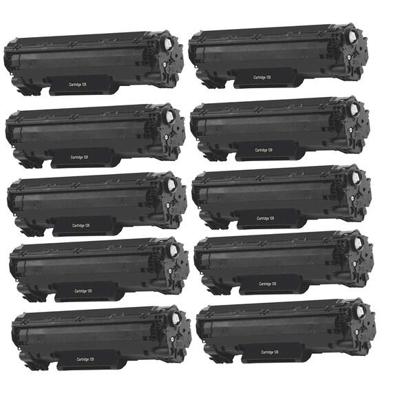 10pk Canon 128 Compatible Black Toner Cartridge Canon Imageclass