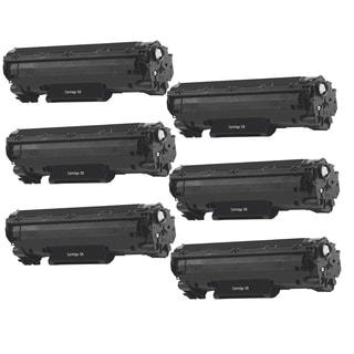 6PK Canon 128 Compatible Black Toner Cartridge Canon imageCLASS D550 imageCLASS MF4450 imageCLASS MF4570dn (Pack of 6)