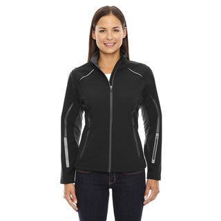 Pursuit Three-Layer Light Bonded Women's Hybrid Soft Shell With Laser Perforation Black 703 Jacket