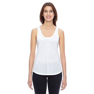 Shirtail Women's White Tank (4 options available)