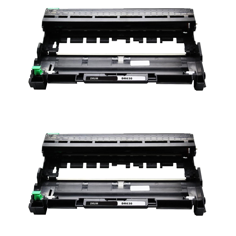 2x DR630 Drum Unit For Brother MFC-L2700DW L2720DW L2740DW DCP-L2540DW HL-L2300D