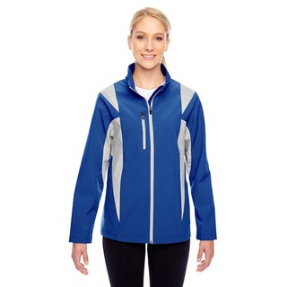 Icon Women's Colorblock Soft Shell Sport Royal/Silver Jacket