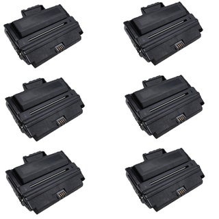 6PK Dell 1815 Compatible Black Toner Cartridge Dell 1815 1815dn (Pack of 6)