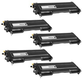 5PK Compatible TN350 Toner Cartridge For Brother DCP-7020, HL-2030, HL-2040, HL-2070N, Intellifax 2820 ( Pack of 5 )