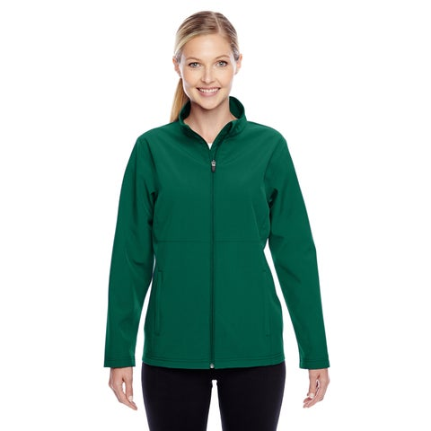 Leader Women's Soft Shell Sport Forest Jacket