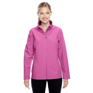 Leader Women's Soft Shell Sport Charity Pink Jacket