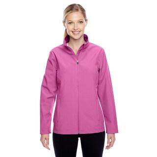 Leader Women's Soft Shell Sport Charity Pink Jacket