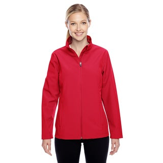 Leader Women's Soft Shell Sport Red Jacket