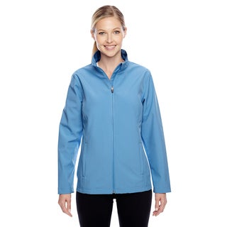 Leader Women's Soft Shell Sport Light Blue Jacket