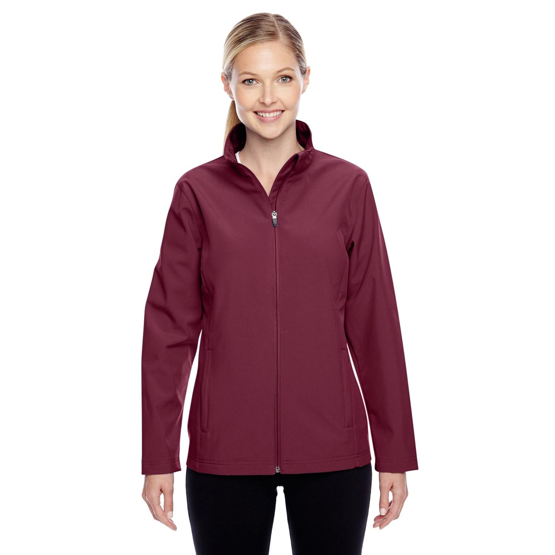 Leader Women's Soft Shell Sport Maroon Jacket (M), Size: ...
