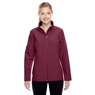 Leader Women's Soft Shell Sport Maroon Jacket