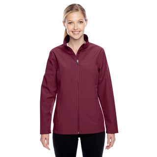 Leader Women's Soft Shell Sport Maroon Jacket