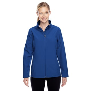 Leader Women's Soft Shell Sport Royal Jacket