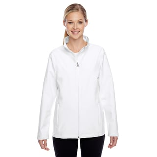 Leader Women's Soft Shell White Jacket