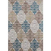 "Persian Rugs Panel Designed Beverly Collection Area Rug - 7'10"" x 10'6"""