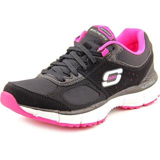 Skechers Women's 'Agility - Ramp Up' Black Basic Textile Athletic Shoes