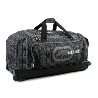 Ecko Unlimited Steam Large 32-inch Rolling Duffel Bag