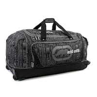 Ecko Unlimited Steam Large 32-inch Rolling Duffel Bag