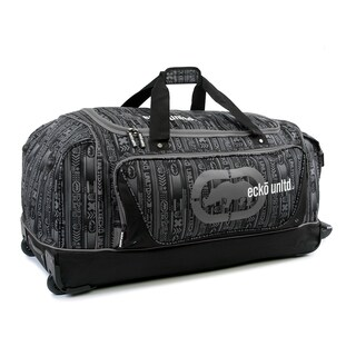 Ecko Unlimited Steam Large 32-inch Rolling Duffel Bag (2 options available)