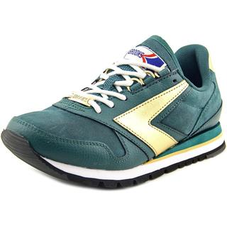 Brooks Heritage Women's 'Chariot' Green Regular Suede Athletic Shoes
