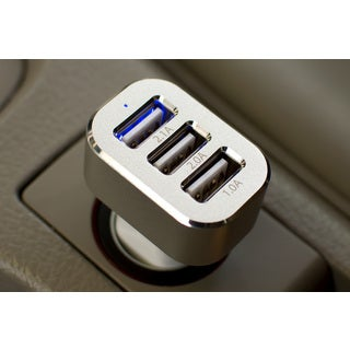 LAX High-Speed 3-Port 5.1-amp USB Car Charger