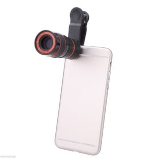 Smartphone and Tablet Camera Lens with 8X Zoom