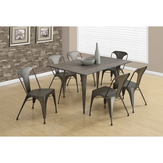 Bronze Metal Dining Table