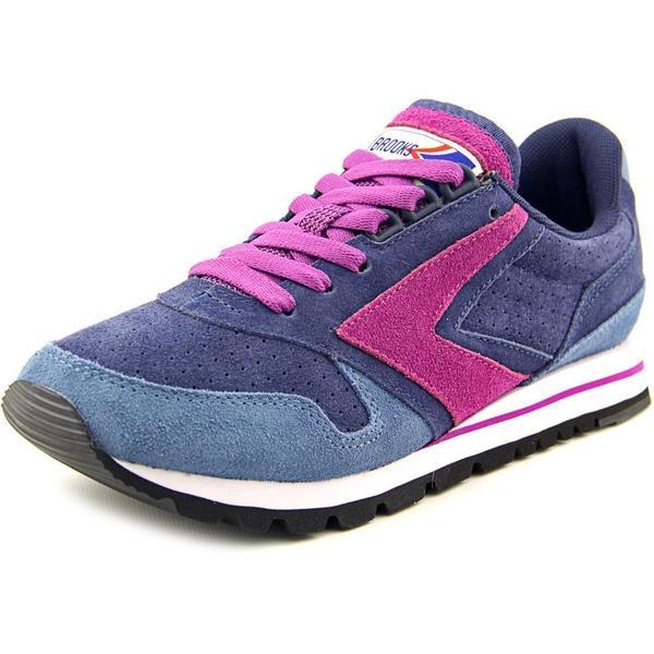 962913dcc64 Shop Brooks Heritage Women s  Chariot  Purple Regular Suede Athletic ...