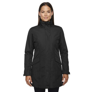 Promote Women's Black 703 Insulated Car Jacket