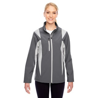 Icon Women's Colorblock Soft Shell Graphite/Silver Jacket