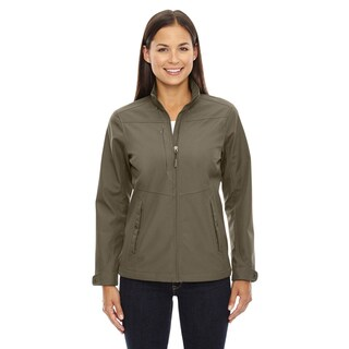 Forecast Three-Layer Light Bonded Women's Travel Soft Shell Dark Oakmoss 487 Jacket