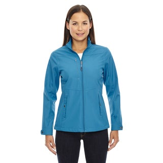 Forecast Three-Layer Light Bonded Women's Travel Soft Shell Blue Ash 488 Jacket