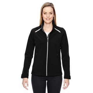 Excursion Women's Soft Shell With Laser Stitch Accents Black 703 Jacket