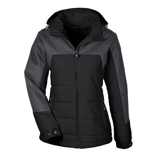 Excursion Women's Meridian Insulated With Melange Print Black/Dark Grey Heathered 703 Jacket
